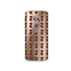 Capa para Moto G6 Plus - Golden