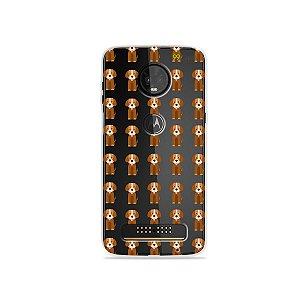 Capa para Moto Z3 Play - Cocker
