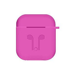 Capinha de Silicone para Airpods (Pink) - 99Capas