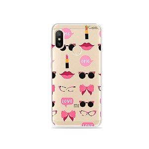 Capa (transparente) para Xiaomi Mi A2 Lite - Girls