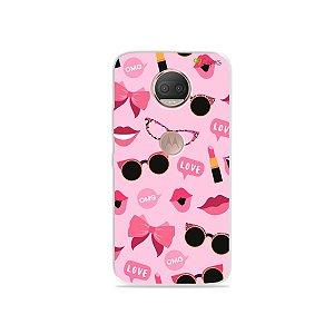 Capa para Moto G5S Plus - Feminine