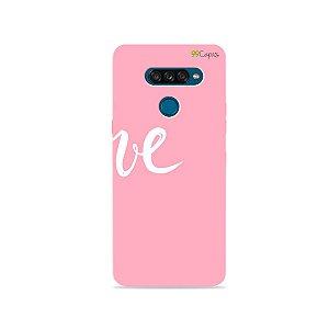 Capa para LG K50s - Love 2