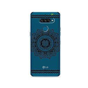 Capa para LG K50s - Mandala Preta