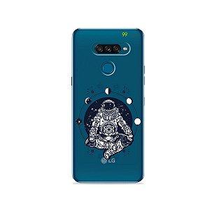 Capa para LG K50s - Astronauta