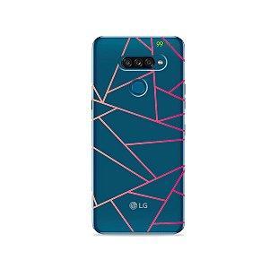 Capa para LG K50s - Abstrata