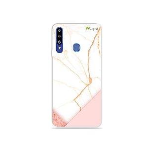 Capa para Galaxy A20s - Marble