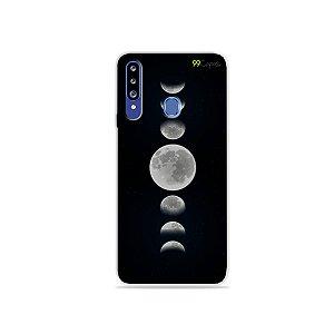 Capa para Galaxy A20s - Fases da Lua