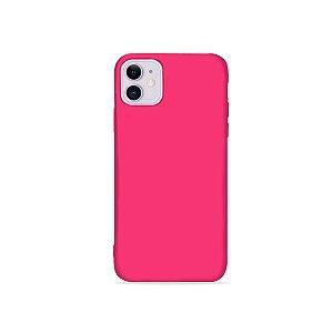 Silicone Case Rosa Pink para iPhone 11 (acompanha Pop Socket) - 99Capas