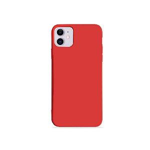 Silicone Case Vermelha para iPhone 11 (acompanha Pop Socket) - 99Capas