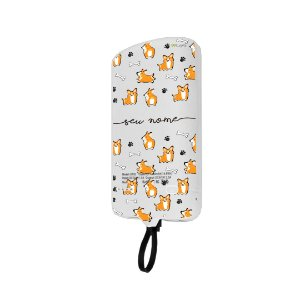 99Snap Powerbank - Micro USB V8 ( Carregador portátil para celular) Cãozinho personalizado com nome