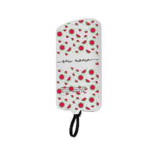 99Snap Powerbank - Micro USB V8 ( Carregador portátil para celular) Mini Melancias com nome personalizado