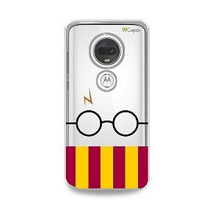 Capinha (transparente) para Moto G7 Plus - H.P.
