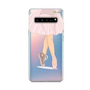 Capinha (transparente) para Galaxy S10 - Ballet
