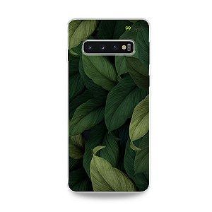 Capinha para Galaxy S10 Plus - Folhas