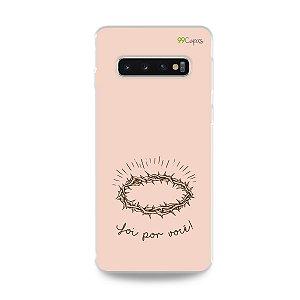 Capinha para Galaxy S10 Plus - Foi por você