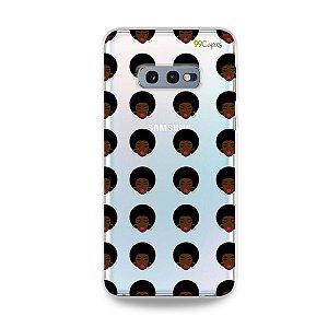 Capinha (transparente) para Galaxy S10e - Black Girl