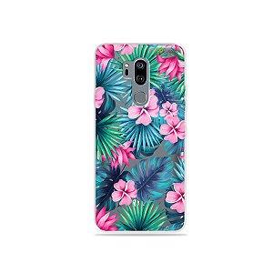 Capinha (transparente) para LG G7 ThinQ - Tropical