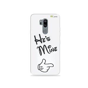 Capinha para LG G7 ThinQ - He's Mine