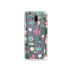 Capinha (transparente) para LG G7 ThinQ - Make Up