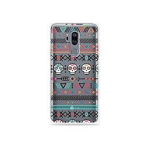 Capinha (transparente) para LG G7 ThinQ - Tribal