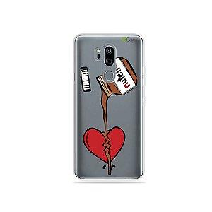 Capinha (transparente) para LG G7 ThinQ - Nutella