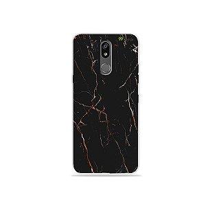 Capinha para LG K12 Plus - Marble Black