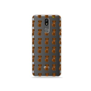 Capinha (transparente) para LG K12 Plus - Golden