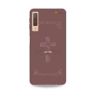 Capinha pra Galaxy A7 2018 - Gratidão