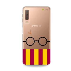 Capinha (transparente) para Galaxy A7 2018  - H.P.