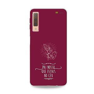 Capinha para Galaxy A7 2018  - Pai Nosso