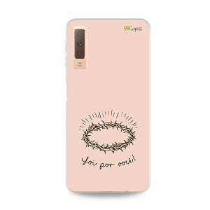 Capinha para Galaxy A7 2018 - Foi por você