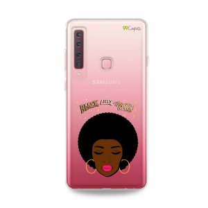Capinha (transparente) para Galaxy A9 2018 - Black Lives