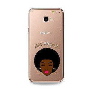 Capinha (transparente) para Galaxy J4 Plus - Black Lives