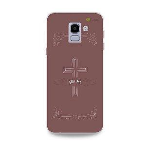 Capinha para Galaxy J6 - Gratidão
