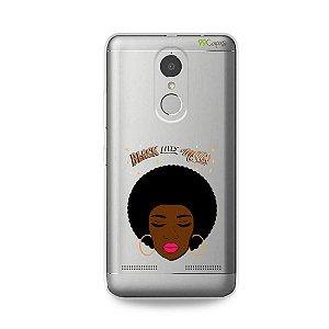 Capinha (transparente) para Lenovo K6 - Black Lives