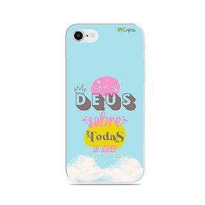 Capinha para iPhone 8 - Amar a Deus