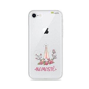 Capinha (transparente) para iPhone 8 - Namastê