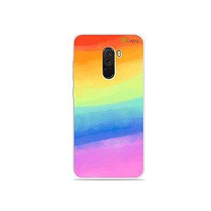 Capinha para Pocophone F1 - Rainbow