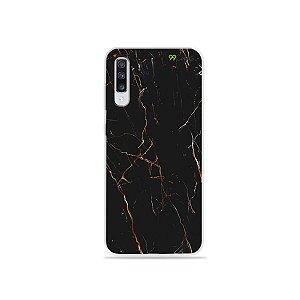 Capinha para Galaxy A70s - Marble Black