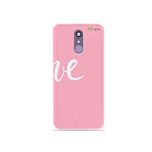 Capinha para LG Q7 - Love 2