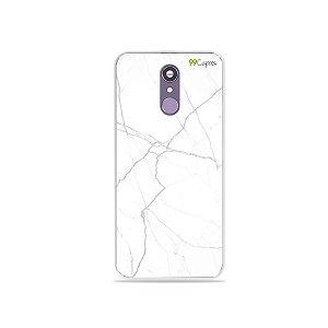 Capinha para LG Q7 - Marble White