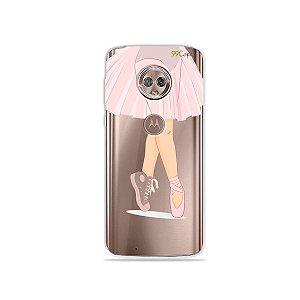 Capinha para Moto G6 Plus - Ballet