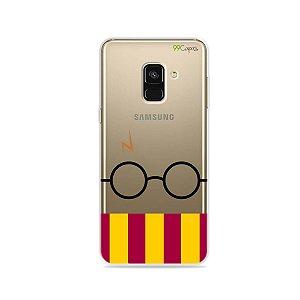 Capinha (transparente) para Galaxy A8 - H.P.