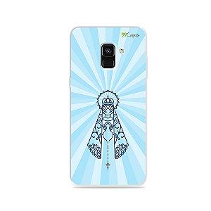 Capinha para Galaxy A8 Plus - Nossa Senhora