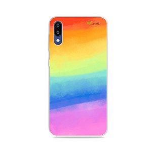 Capinha para Galaxy M10 - Rainbow