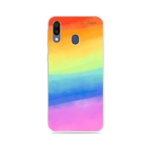 Capinha para Galaxy M20 - Rainbow