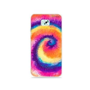 Capinha para Zenfone 4 Selfie - Tie Dye Roxo