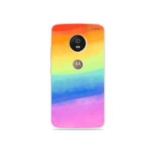 Capa para Moto G5 - Rainbow