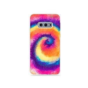 Capinha para Galaxy S10e - Tie Dye Roxo