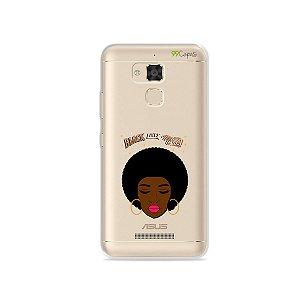 Capinha (transparente) para Asus Zenfone 3 Max- 5.2 Polegadas - Black Lives